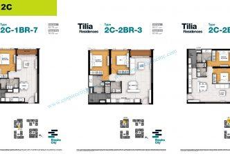 1 bedroom T2C