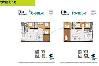 3 bedrooms T1C-2