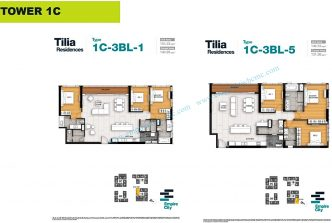 Good price 3 bedroom apartment in Tilia Residences for sale