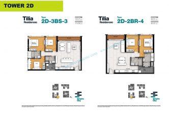 3 bedrooms T2D
