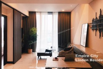 Super nice 1 bedroom apartment for rent in Empire City with river view