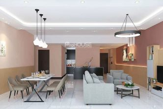 Big size 3 bedroom apartment in Empire City for rent, 155 sqm, full nice furniture